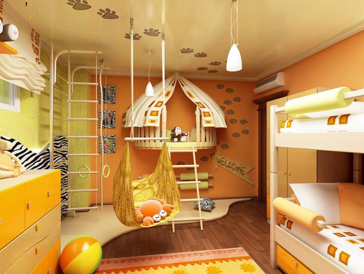 Фото — 53 Зона отдыха и игровая в одной комнате