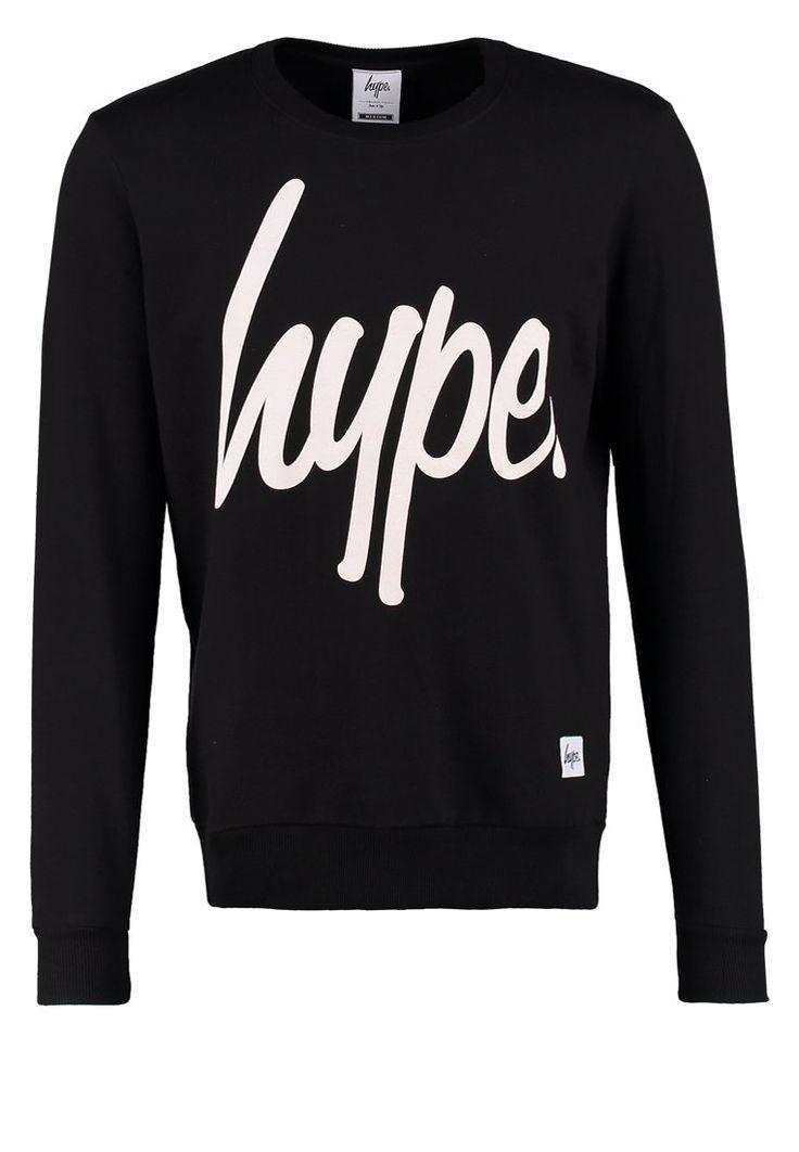 Hype Sweatshirt - black/white - Zalando.de
