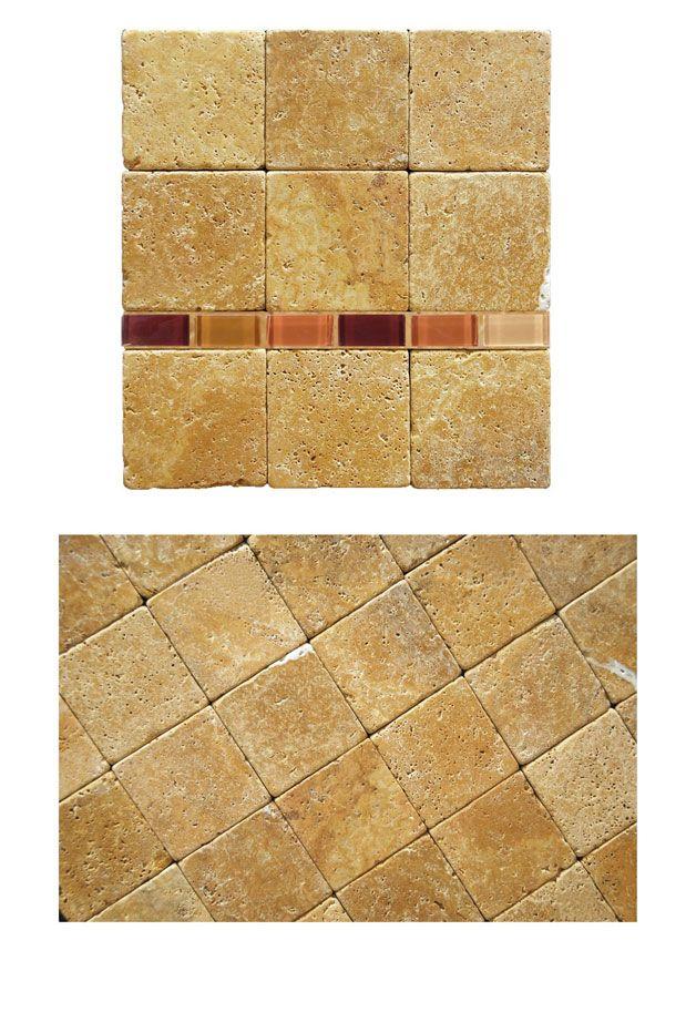 Tumbled Stone Backsplash Tile Ideas - Backsplash.com   Kitchen Backsplash Products & Ideas
