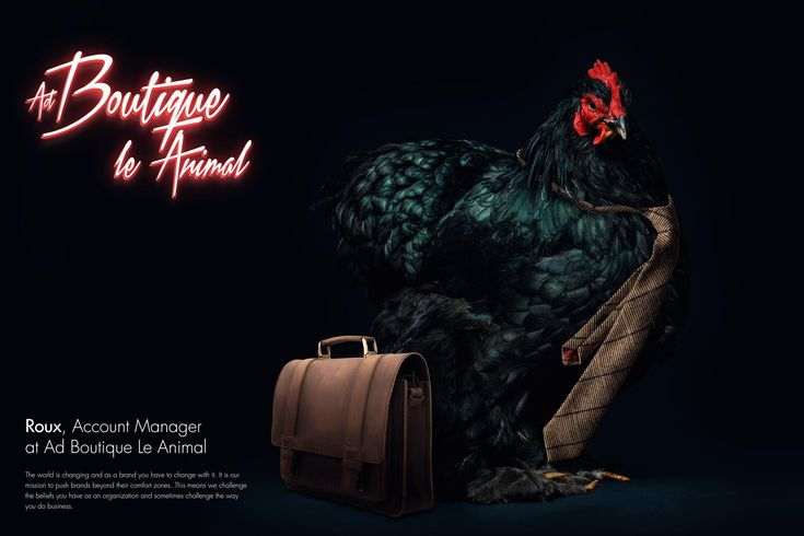 Ad Boutique Le Animal: Roux, Account Manager   Ads of the World™