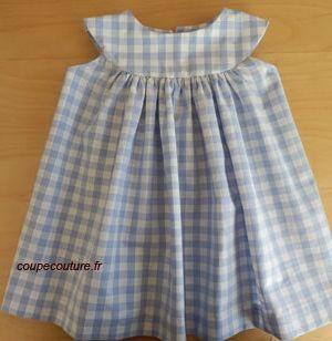 Freebook ( französisch aber bebildert) für ein süßes Kinderkleid nähen