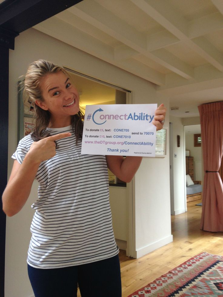 A Huge thank you for your support Izzy Judd! Please join Izzy in supporting our #ConnectAbility appeal, raising money for people with severe disabilities www.thedtgroup.org/ConnectAbility