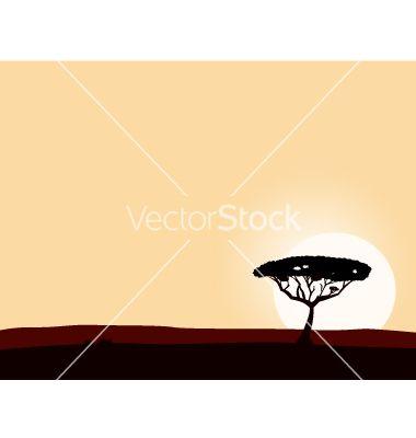 Safari background vector