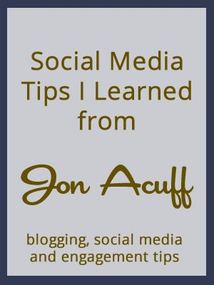 Social Media Tips from Jon Acuff #socialmedia #blissdom
