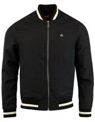 MERC Retro Mod Stripe Trim Monkey Jacket BLACK