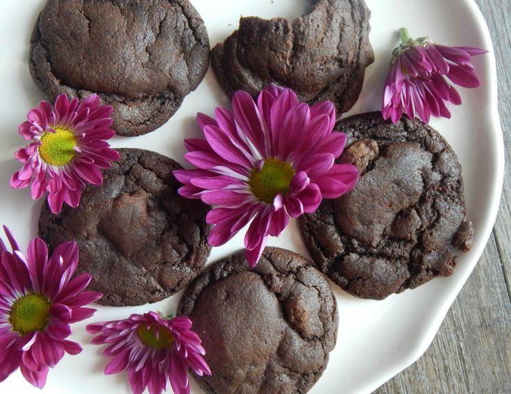 Chocolateturkish coffee cookies lightly spiced double