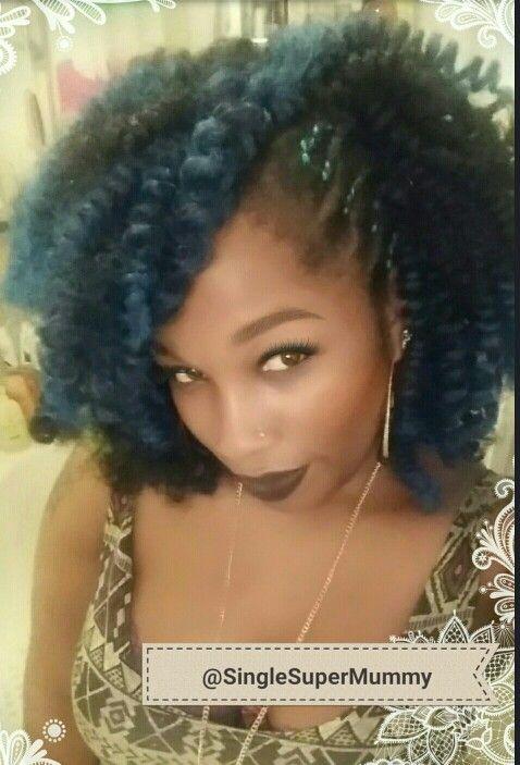 hair green crochet pre curled blue green hair growth crochet braids ...