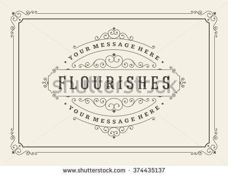 stock-vector-vintage-ornament-greeting-card-vector-template-retro-luxury-invitation-royal-certificate-374435137.jpg (450×346)
