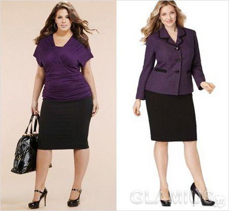 Фиолетово-черные комплекты