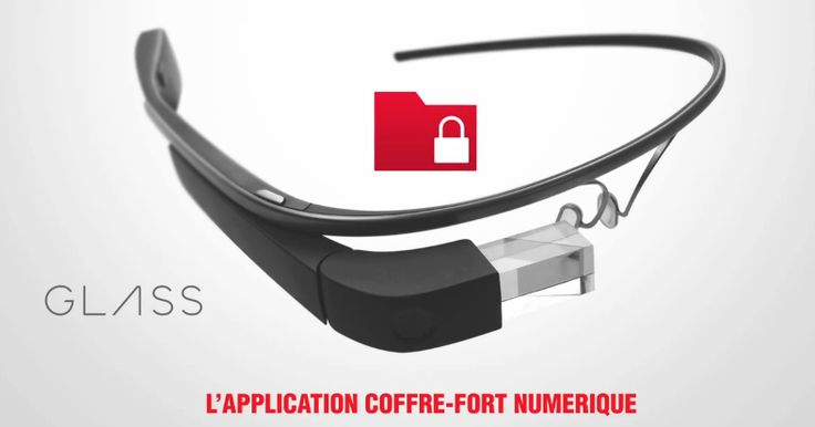 La Caisse d'Epargne nous présente son application sur les Google Glass