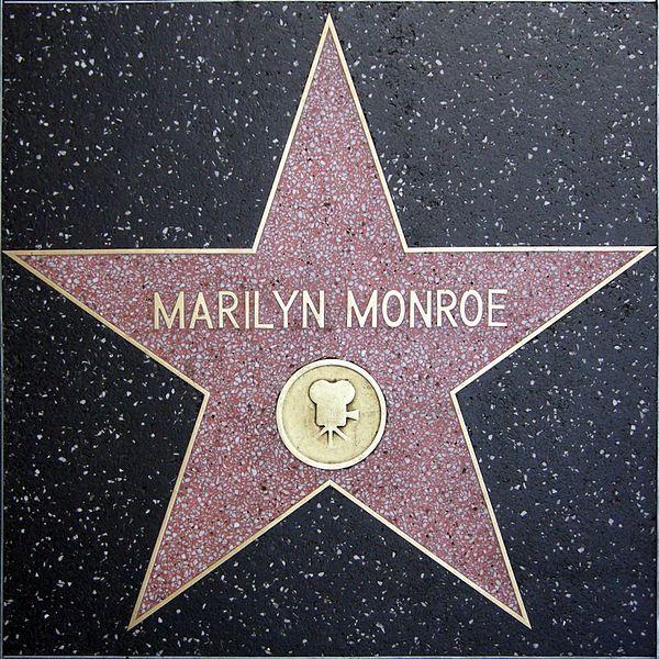 Marilyn Monroe star                                                                                                                                                     Mehr