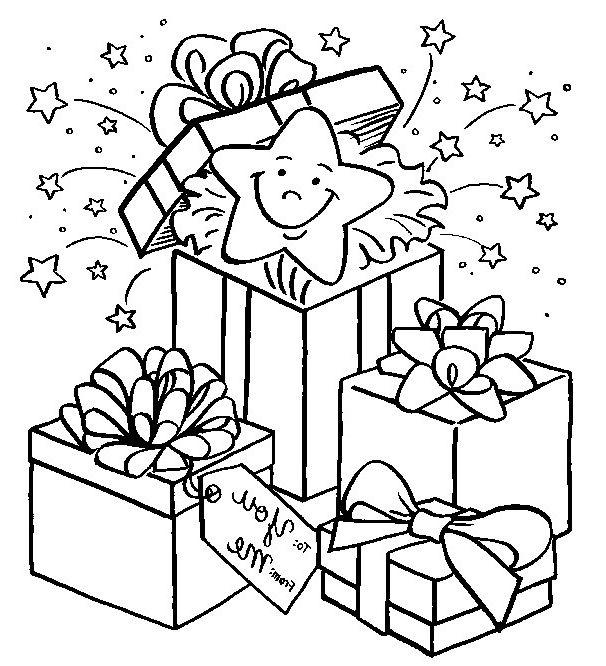 Dessin Cadeau De Noel