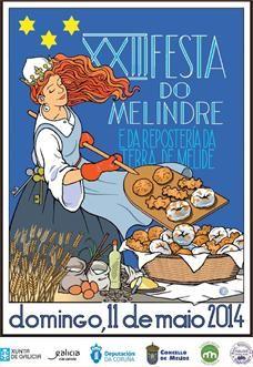 XXIII Festa do Melindre en Melide #galicia