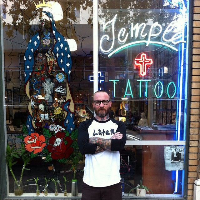 Instagram media by jasonmcafee72 - Today is 15yrs at Temple tattoo.i could go on for days about what a journey it has been but i won't .i just wanna thank everyone that has got tattooed by me over the years and all the amazing people i have got to work with over the years and today!! @downtownoakland can't thank you enough for taking the chance on me.love ya