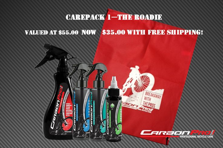 Bundle 1- perfect combo for the roadie in your life! Bundle and save now at http://www.carbonpro-sports.com/shop/bundle-save/
