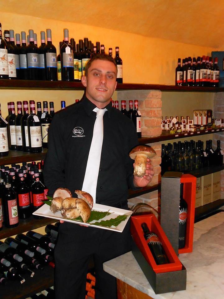 Questa sera serviamo #porcini freschi! This evening we serve fresh porcini #mushrooms!