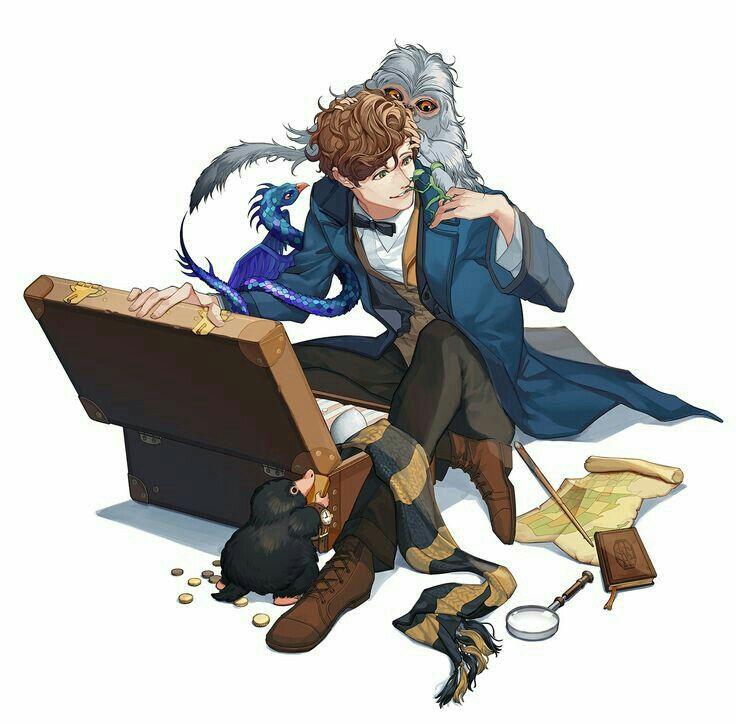 Newt Scamander Is The Type