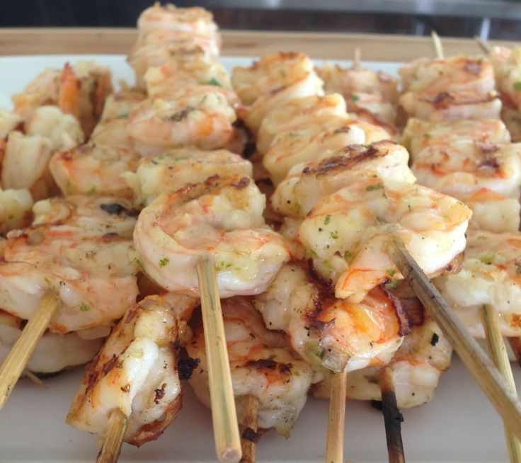 Grilled shrimp with jalapeño vinaigrette via www.the-glitter-life.com ...