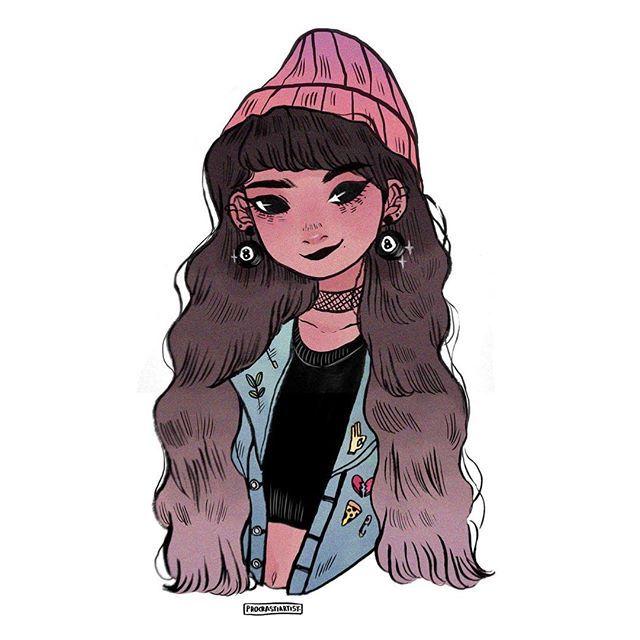 G I R L S Anime Art Pinterest Tegninger