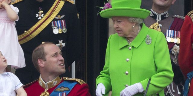 This Hilarious GIF of the Queen Scolding Prince William Will Make Your Day  - TownandCountryMag.com