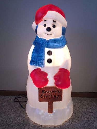 Blow mold by cody2robert 36 other ideas to discover on for 36 countdown to christmas snowman yard decoration