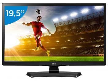 """Monitor TV 19,5"""" LG 20MT48DF - Conversor Integrado 1 HDMI 1 USB"""