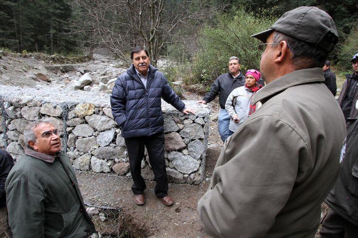 #TLAXCALA SUPERVISA MGZ TRABAJOS DE CONSTRUCCIÓN DE 11 PRESAS DE GAVIÓN EN LA MALINCHE.  ·         Se... http://fb.me/17m5l7rI2