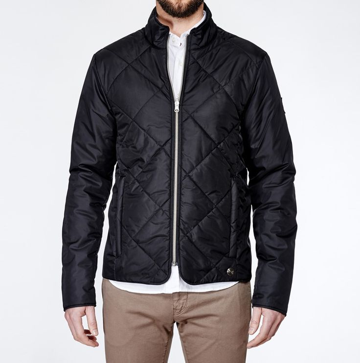 Liner #Reversible #Black #Jacket #Menswear www.snoot.se