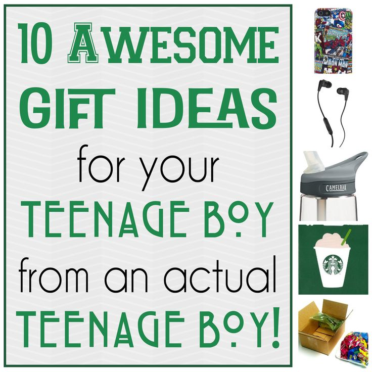 10 Awesome Gifts for your Teenage Boy that won't break the bank!