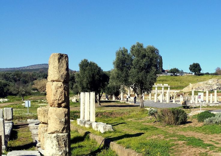 Ancient Messene - the Asklipeion #ancientmessne #peloponnese #ancent #messene #greece #history #culture