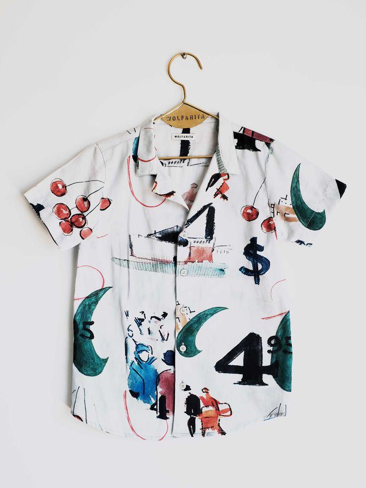 Shirt Bruno L'Art – Wolf & Rita
