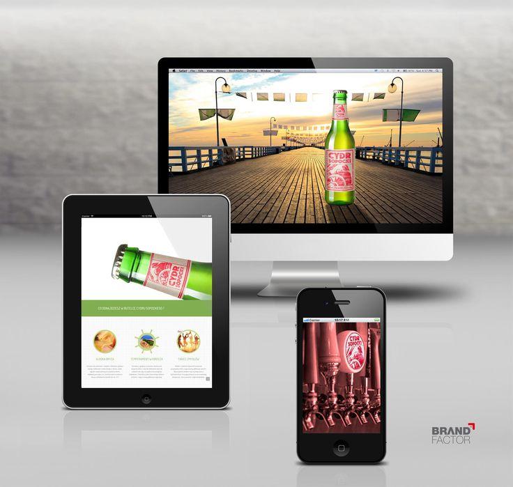 CYDR SOPOCKI  #landinpage #layout #sopot #drink #cider #cydr #advertising #cydrsopocki