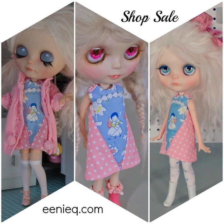 Celebrating with a sale! Two unique dresses have been discounted to celebrate my shop upgrade!  #blythe #doll #blythestagram #ootd #sew #sewingfordolls #blythefashion #blythedress #shopping  #celebrate #shop