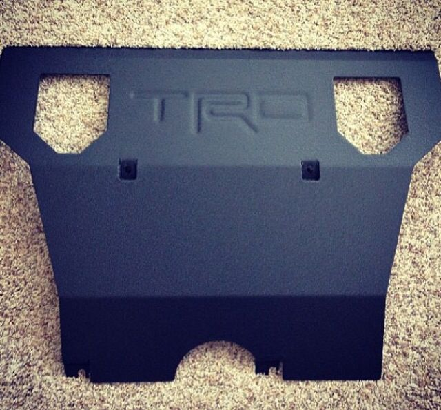 $220.00 US Skid plate for Toyota Tacoma (2005-2014 models) order at- http://www.bpfabricating.com/
