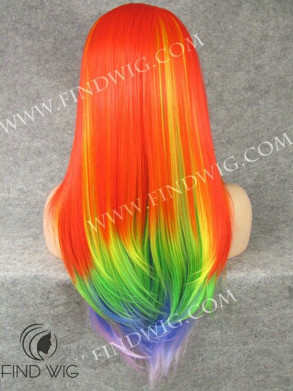 17 Best Images About Rainbow Hair On Pinterest Rainbow