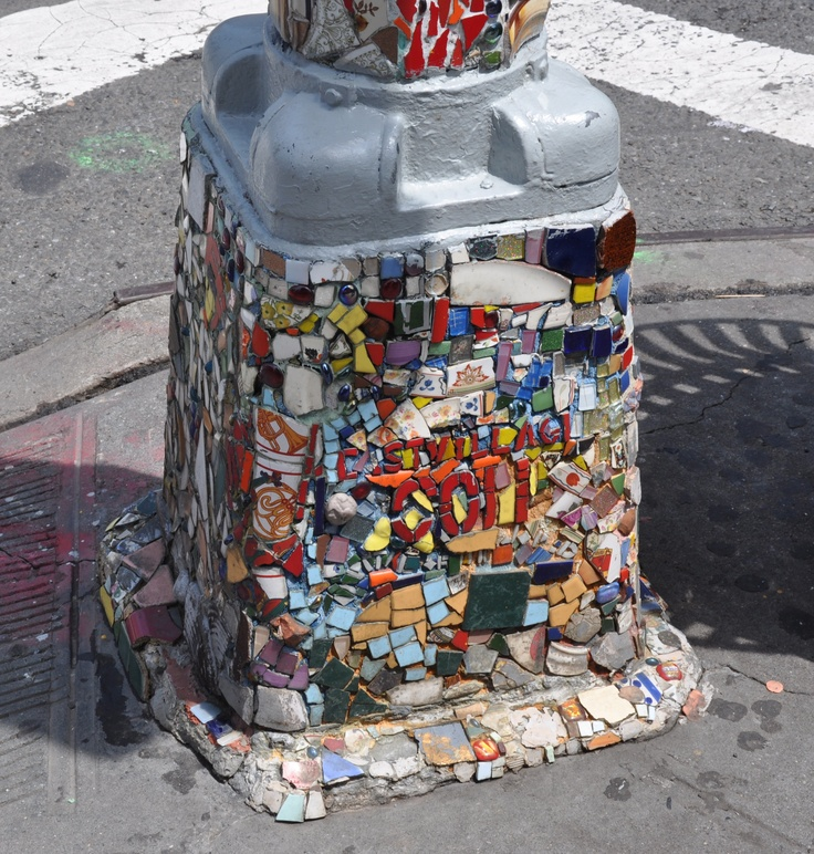 Artist in Greenwich village been doing this for years