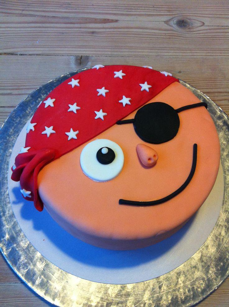 Piraten taart - pirate cake