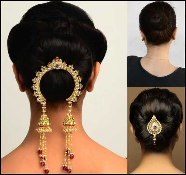 Simple Juda Hairstyle For Wedding: Bollywood Hairstyles, Indian