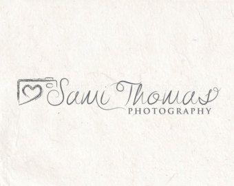 Logo della macchina fotografica di fotografia logo - design del logo premade - fotografia filigrana. Download immediato digital download file psd