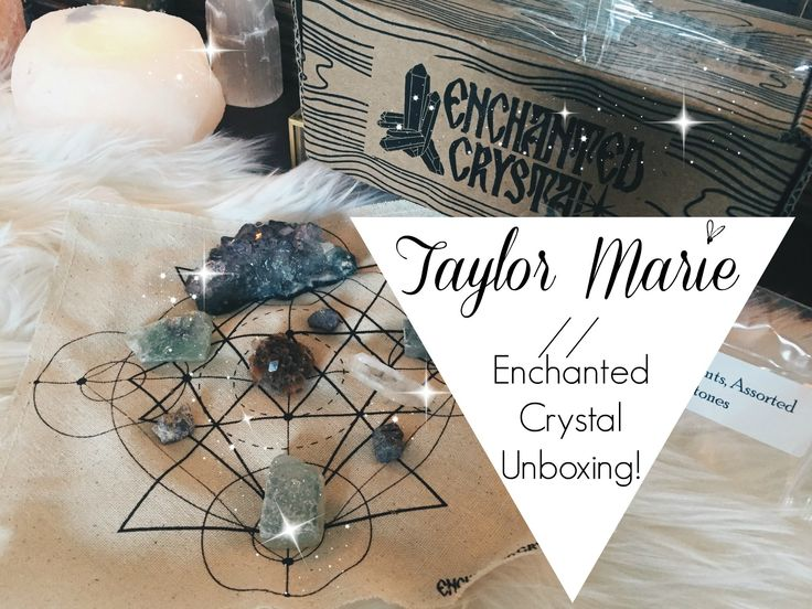 Enchanted Crystal unboxing ♥ Taylor Marie