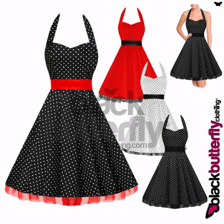Classic 50 s style dresses