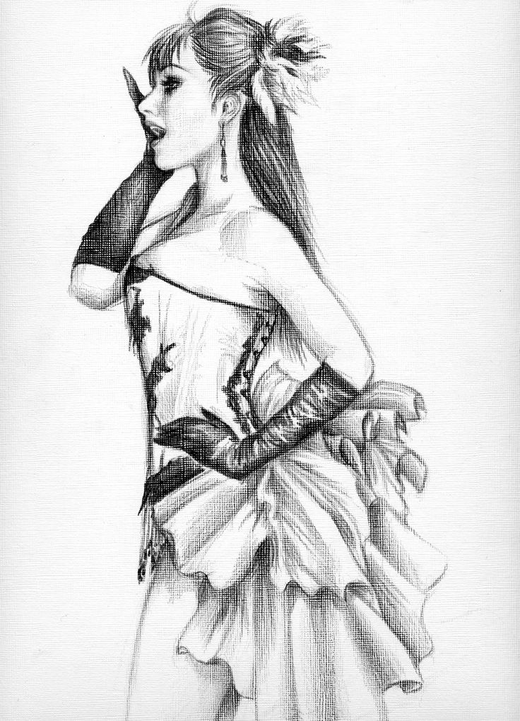 Pencil drawings drawing in black pencil by doriangothic traditional art drawings