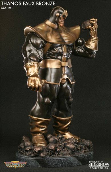Sideshow Collectibles - Thanos Polystone Statue
