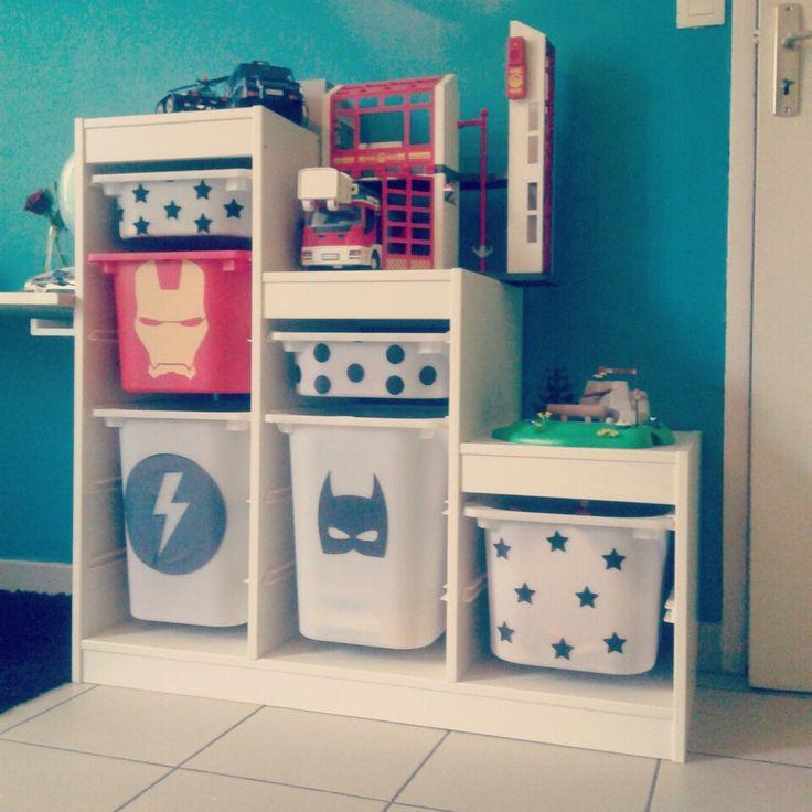 Les 485 meilleures images propos de chambre pour petit - Pegatinas pared infantiles ikea ...