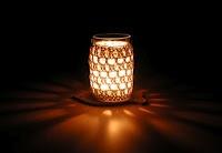 Recycle, reuse!  Love it! ANNEMARIE'S CROCHET BLOG ♥ ANNEMARIE'S HAAKBLOG: Monday Pattern Day: Crochet Jam Jar