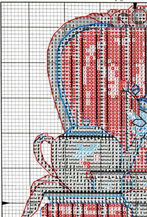 """Скачать Вышивка """"Время чаепития"""" бесплатно. А также другие схемы вышивок в разделах: Для кухни, Dimensions, Натюрморты"""