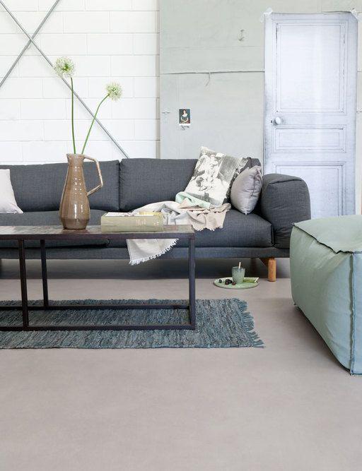 Een neutrale, rustige en tijdloze vloer die goed toe te passen is in elk interieur.