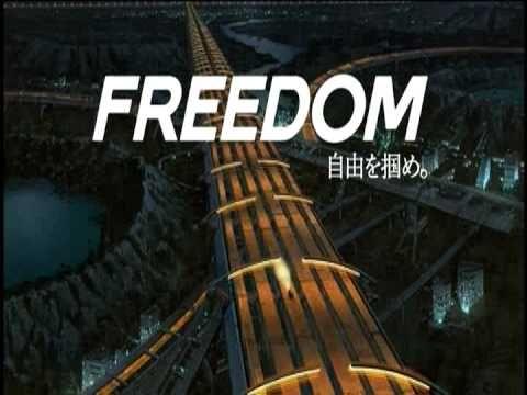 日清 カップヌードル TVCM 3pattern 「FREEDOM-PROJECT」 (NISSHIN Cup Noodle)