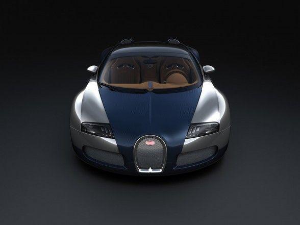 2009 Bugatti Veyron Sang Bleu wallpaper 588x441 2009 Bugatti Veyron Sang Bleu