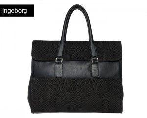 big handbag salmon fish leather